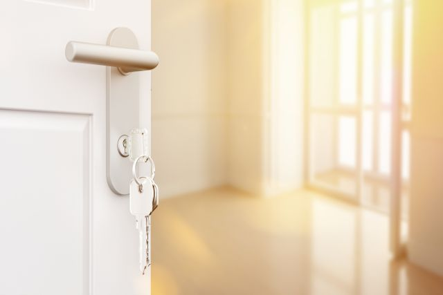 locks and keys for a rental property
