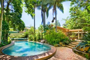 rental property with a pool